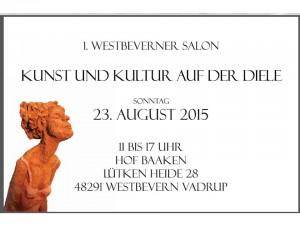 1. Westbeverner Salon - Kunst und Kultur auf der Diele