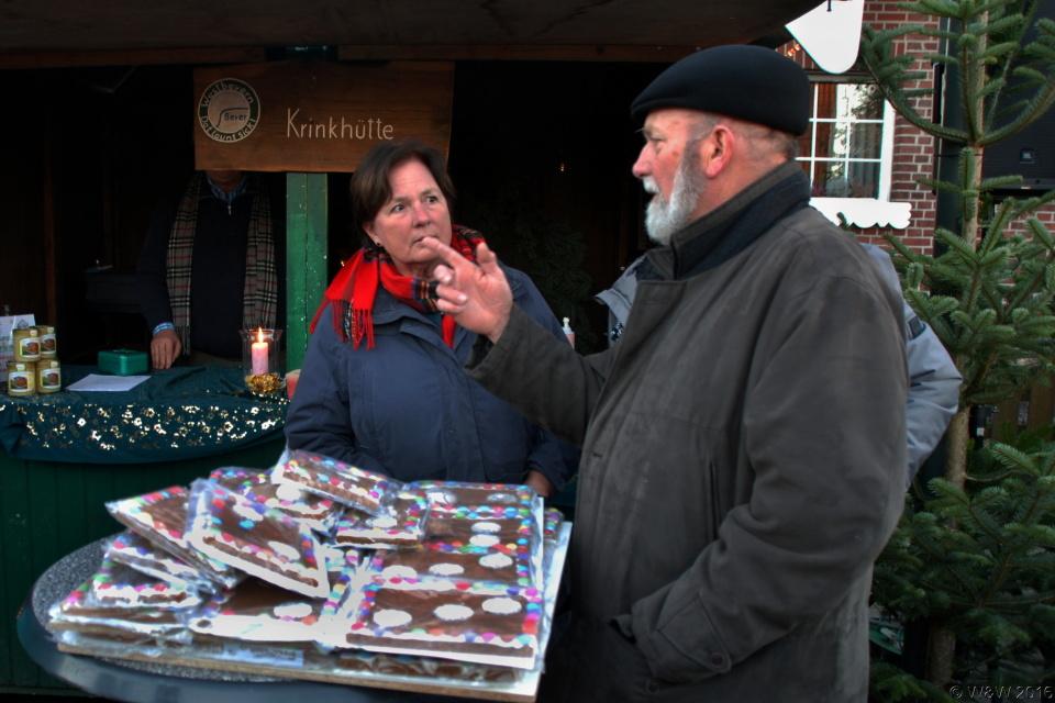 Weihnachtsmarkt in Vadrup am 04.12. 2016