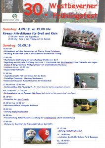 Frühlingsfest-Programm-Foto