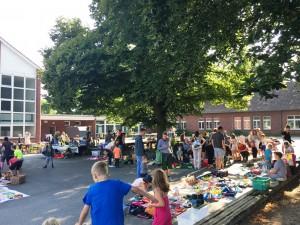 Tolle Atmosphäre beim Kinderflohmarkt am 14.07.2018