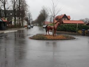 ...bis das Pferd am richtigen Platz steht!