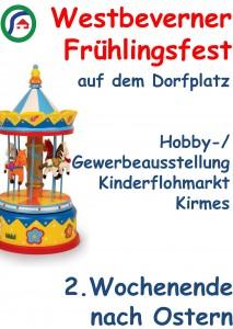 Werbeplakat DIN A 1 Frühlingsfest 100416