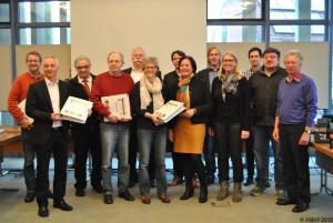 Übergabe des Ergebnisberichts durch die Krinkverantwortlichen und Ehrenamtlichen an den Bürgermeister und die politischen Vertreter des Rats der Stadt Telgte