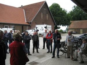 Leonhard Große Kintrup präsentiert sein Unternehmen