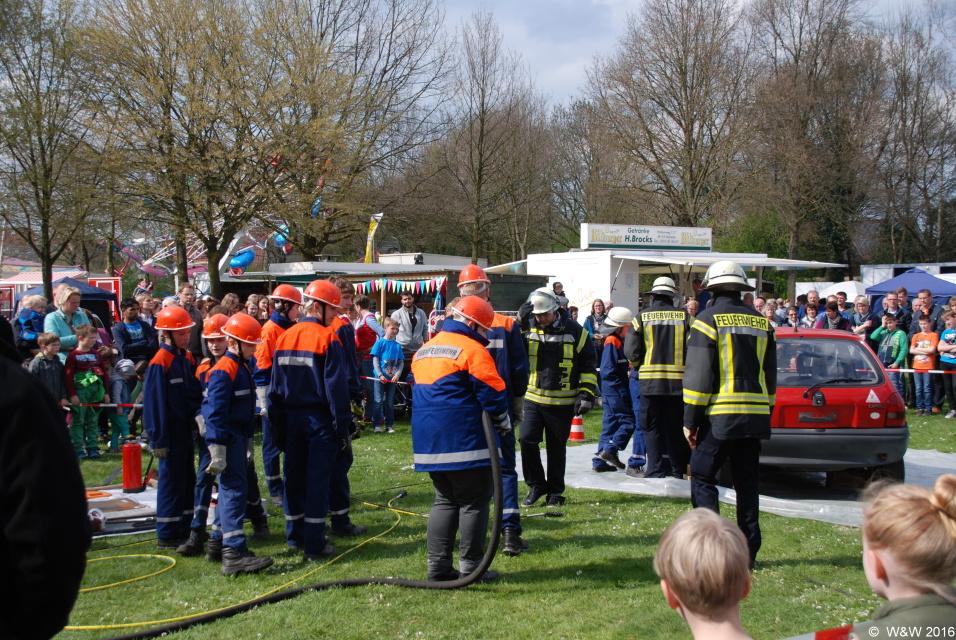 Frühlingsfest in Westbevern am 10.April 2016.