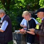 Helferfest am Dorfspeicher in Westbevern Dorf am 02.09.2018.