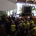 Bei Claas in Harsewinkel