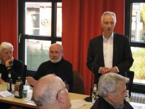 BM Wolfgang Pieper bei den Krinkrentnern
