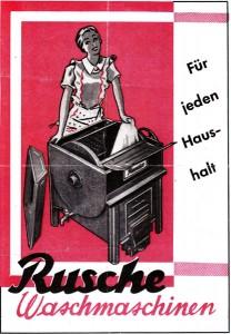 Rusche-Waschmaschinen für jeden Haushalt
